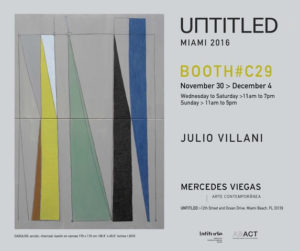 Untitled Miami 2016 | Galeria Mercedes Viegas | Booth#C29
